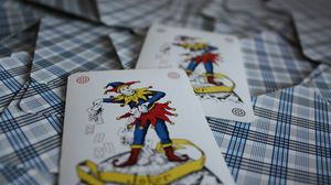 Preview wallpaper playing cards, cards, deck, joker