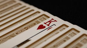 Preview wallpaper playing cards, cards, king