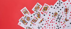 Preview wallpaper playing cards, game, gaming, joker, king, queen