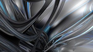 Preview wallpaper plexus, stripes, lines, shape