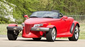 Preview wallpaper plymouth prowler, red, plymouth, retro