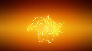 Preview wallpaper pokemon, animal, cyndaquil