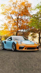Preview wallpaper porsche 911 gt3, porsche, sports car, racing