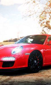 Preview wallpaper porsche, auto, car, cars, red