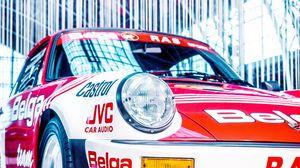 Preview wallpaper porsche, sports car, rally, race, racing