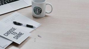 Preview wallpaper positive, motivation, inscription, pen, macbook