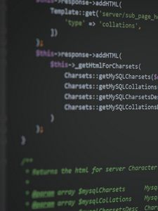 Preview wallpaper programming, code, hacker, screen