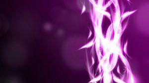 Preview wallpaper purple, white, glow