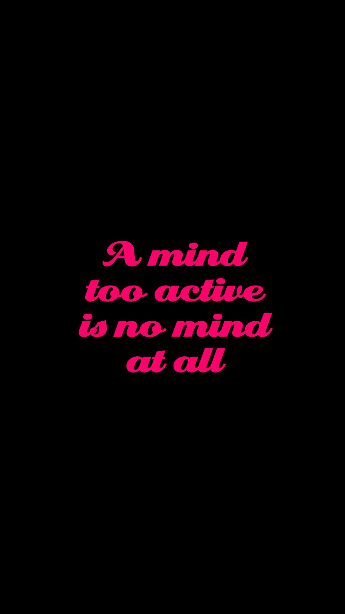 1350x2400 Wallpaper quote, phrase, words, pink