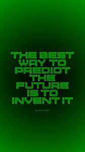 Preview wallpaper future, motivation, inspiration, inscription, green