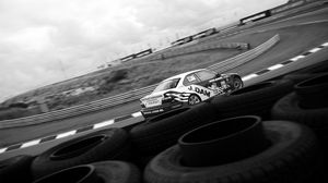 Preview wallpaper race, rally, racer, track, bus