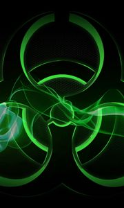 Preview wallpaper radiation, sign, symbol, background