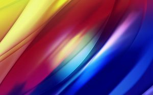 Preview wallpaper rainbow, colorful, lines, wavy