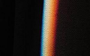 Preview wallpaper rainbow, light, cloth, dark