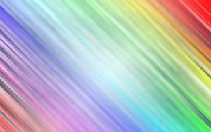 Preview wallpaper rainbow, light, shine, lines