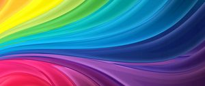 Preview wallpaper rainbow, line, light, colorful