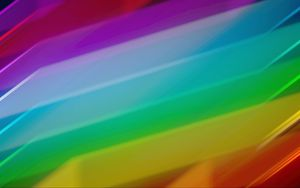 Preview wallpaper rainbow, stripes, lines, colorful