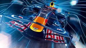 Preview wallpaper rally, red bull, car, race