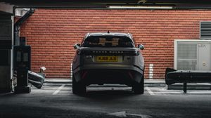 Preview wallpaper range rover, car, suv, rear view