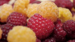 Preview wallpaper raspberry, berry, ripe, sweet