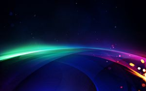 Preview wallpaper rays, colorful, bright, saturated