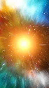 Preview wallpaper rays, colorful, sun, bright, shine