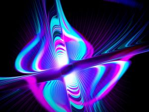 Preview wallpaper rays, form, multicolored, glow, abstraction