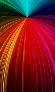 Preview wallpaper rays, glitter, multicolored, lines