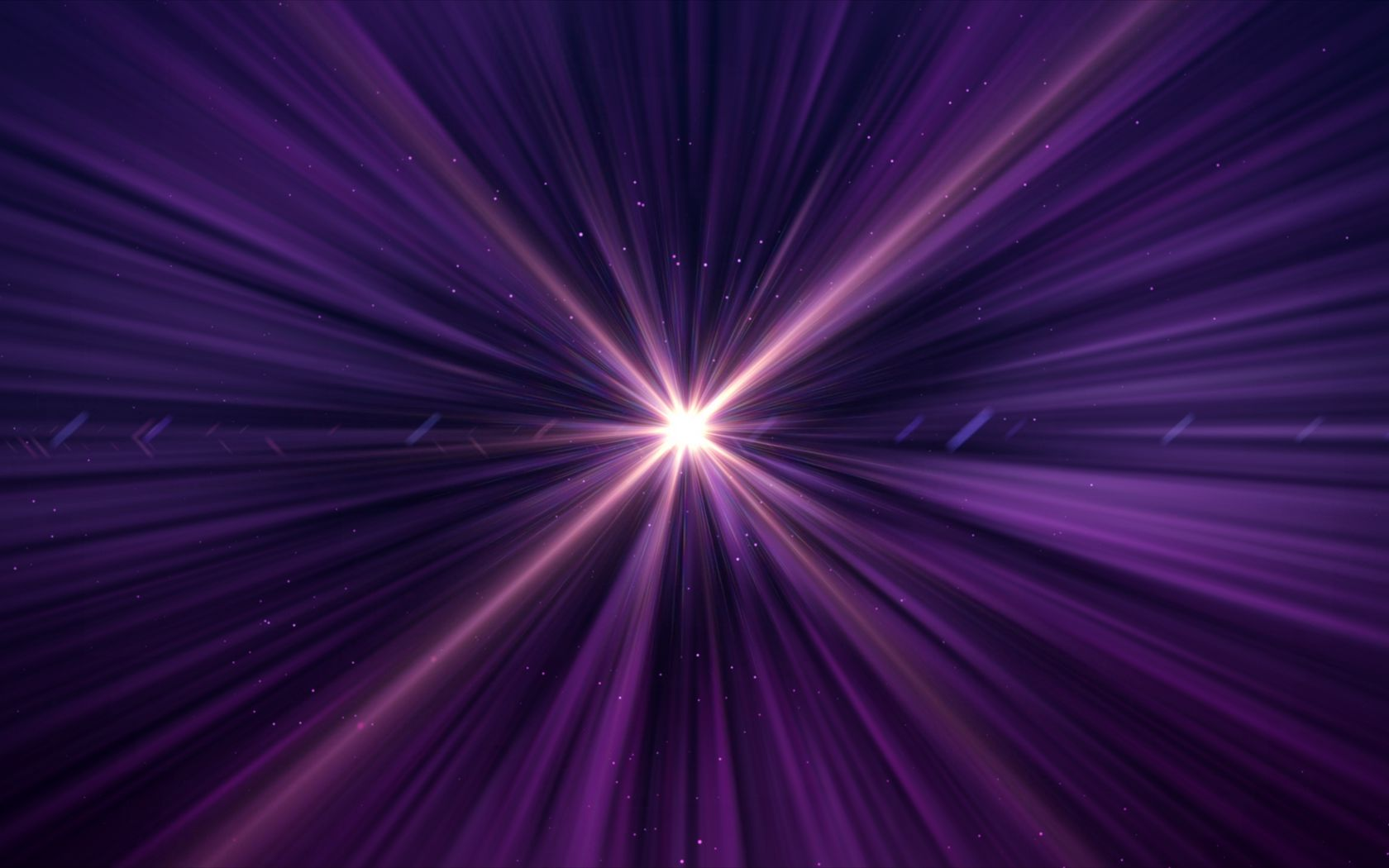 1680x1050 Wallpaper rays, glow, light, purple