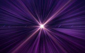 Preview wallpaper rays, glow, light, purple