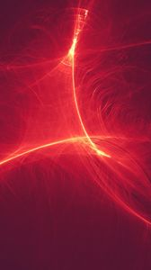 Preview wallpaper rays, lines, distortion, red