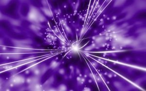 Preview wallpaper rays, radiance, glitter, purple