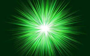 Preview wallpaper rays, shine, green, bright