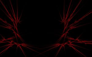 Preview wallpaper red, black, abstract