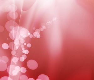 Preview wallpaper red, glare, points, circles, background