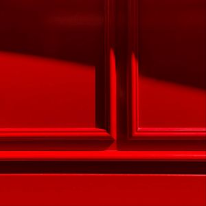 Preview wallpaper red, wooden, carved, decoration, frame, shadow