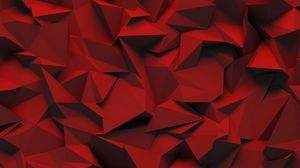 Preview wallpaper relief, red, texture, triangle