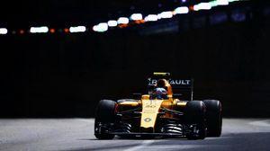 Preview wallpaper renault, formula 1, palmer, racing