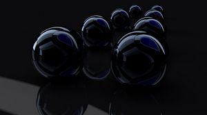 Preview wallpaper rendering, render, black, reflection
