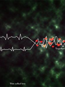 Preview wallpaper rhythm, heart, plexus