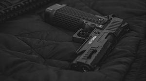 Preview wallpaper rifle, gun, weapon, black