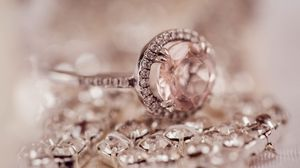 Preview wallpaper ring, diamond, jewelry