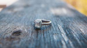 Preview wallpaper ring, diamond, macro, jewel