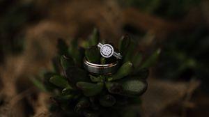 Preview wallpaper ring, diamonds, jewel, love, romance