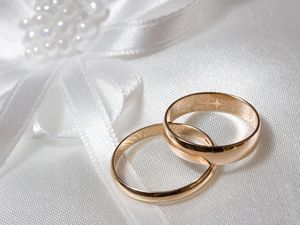 Preview wallpaper ring, dress, engagement, couple, wedding