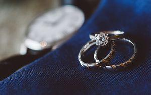 Preview wallpaper rings, diamond, jewelry, love, romance