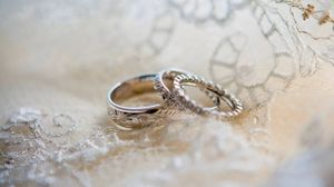 Preview wallpaper rings, wedding, love, patterns