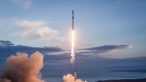 Preview wallpaper rocket, flight, launch, smoke