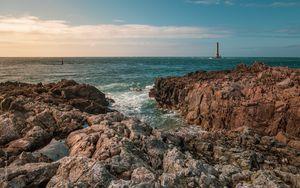 Preview wallpaper rocks, sea, water, landscape