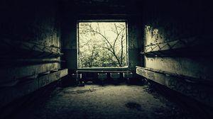 Preview wallpaper room, bathroom, old, black white